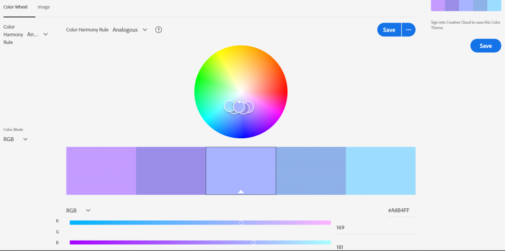 use of color psychology for websites